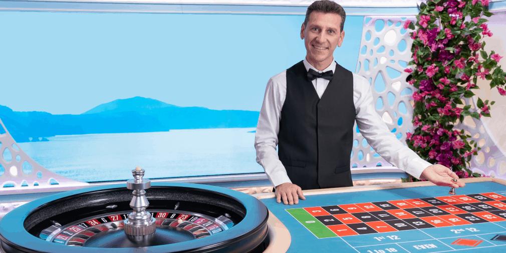 Live roulette screenshot
